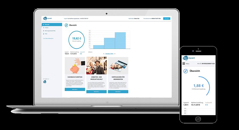 Kunden-Dashboard für Kundenbindungsprogramm